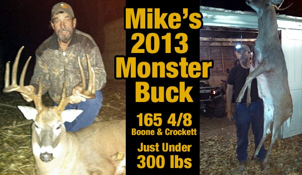 Mike's Monster Whitetail Buck